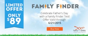 Father's Day Sale – Family Tree DNA