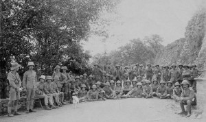 Images of the 1/5th Hampshire Regiment