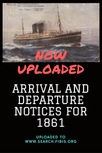 Read more about the article Times of India arrival and departure notices for 1861