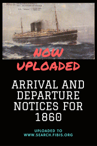 Read more about the article Times of India arrival and departure notices for 1860