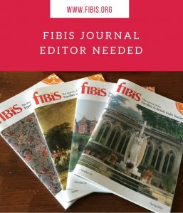 Journal Editor needed